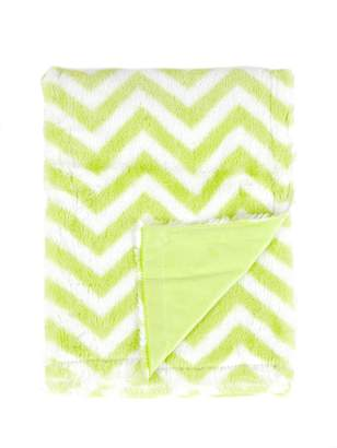 Tadpoles Sleeping Partners Chevron Print Blanket