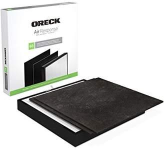 Oreck AK46002 Air Response Certified Hepa Media + Odor Control Replacement Filter Kit Type B3 for Air Response Large Wk16002