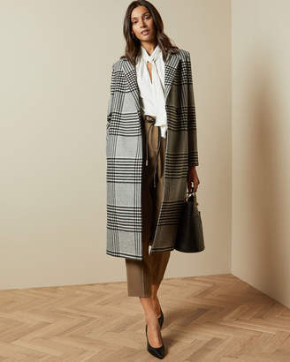 Ted Baker CELINNA Wool checked coat