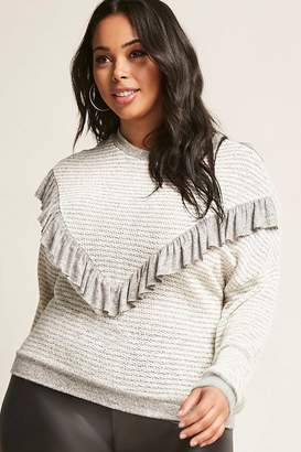 Forever 21 Plus Size Stripe Sweater