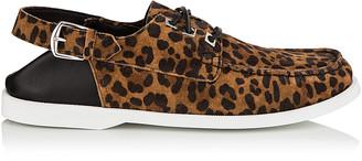 Jimmy Choo ORSON Sugar Mix Leopard Print Suede Loafer