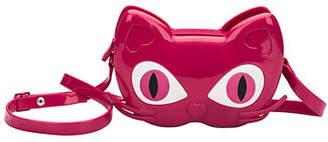 Mini Melissa Girls' Mini Cat Jelly Crossbody Bag