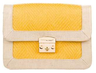 Rebecca Minkoff Tweed Canvas Handle Bag