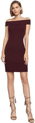 BCBGMAXAZRIA Katiana Off-The-Shoulder Knit Dress
