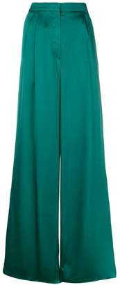 Rochas wide leg trousers