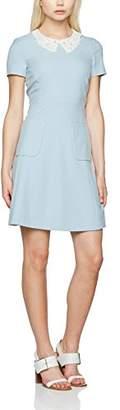 SET Women's Kleid Dress, (Blue Fog 5080)
