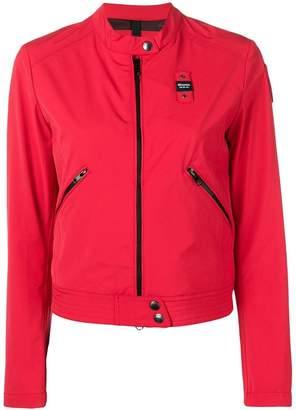 Blauer zip cropped jacket