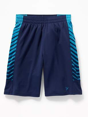 Old Navy Go-Dry Side-Panel Mesh Performance Shorts for Boys