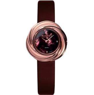 Skagen Women's 885SRLD Leather Swiss Quartz Watch