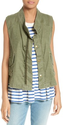 Women's The Great. The Army Vest $275 thestylecure.com