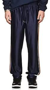 Fila Men's Metallic-Striped Logo Track Pants-Navy