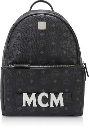 MCM Black Trilogie Stark Small/Medium Backpack