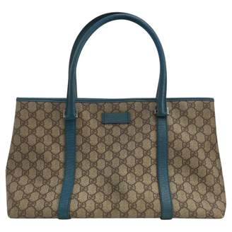Gucci 100% Authentic Canvas Coated Monogram Large Tote
