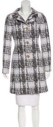 Cinzia Rocca Printed Knee-Length Coat