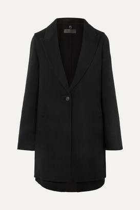 Rag & Bone Kaye Convertible Wool-blend Felt Coat - Black