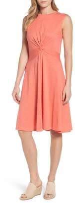 Caslon Twist Front Knit Dress