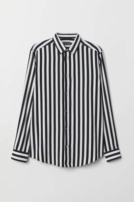 H&M Striped Shirt - Black