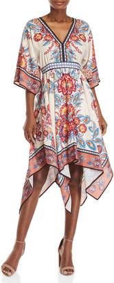 Flying Tomato V-Neck Printed Dress
