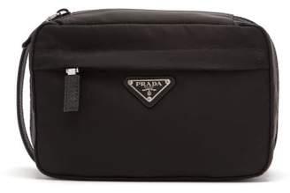 Prada Nylon Wash Bag - Mens - Black