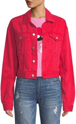 DL1961 Premium Denim Annie Cropped Denim Jacket