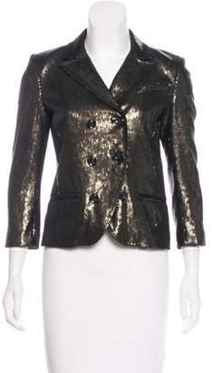 Diane von Furstenberg Sequin Structured Blazer