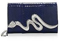 Judith Leiber Couture Couture Women's Serpent Snakeskin Bag