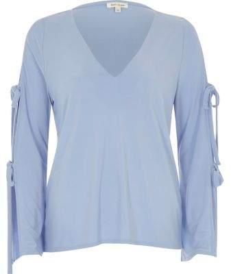 Womens Pale Blue Top - ShopStyle Australia