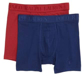 Polo Ralph Lauren 2-Pack Cotton & Modal Boxer Briefs