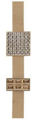 Lanvin Luxbox Bronze And Gold Necklace/Bracelet