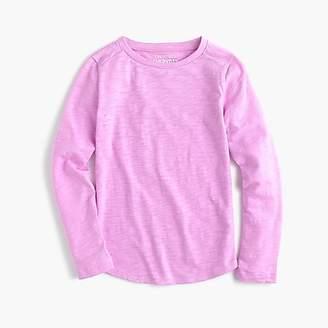 J.Crew Girls' Mercantile long-sleeve T-shirt