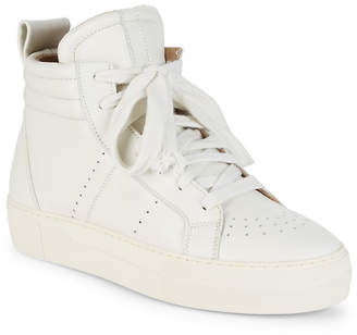 Helmut Lang Enya Hi-Top Leather Sneaker