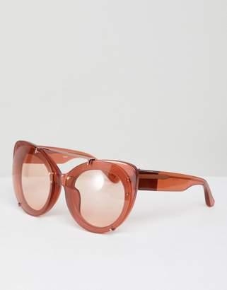 3.1 Phillip Lim Cat Eye Tinted Sunglasses