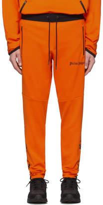 Palm Angels Orange Under Armour Edition Jogging Lounge Pants