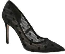 Sam Edelman Hazel Fabric Polka Dot Pumps