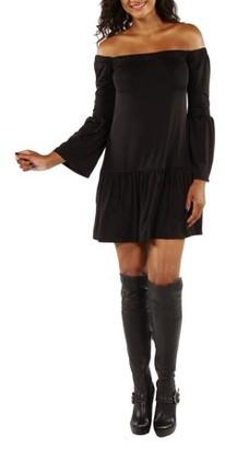 24/7 Comfort Apparel Women's Stunning Off Shoulder Romance Dress