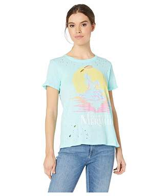 Chaser The Little Mermaid x Short Sleeve Crew Neck Tee
