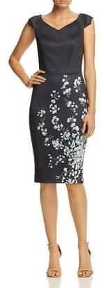 Ted Baker Lorelea Graceful Floral Scuba Dress - 100% Exclusive