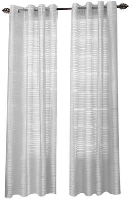 Asstd National Brand Maggie Grommet-Top Curtain Panel