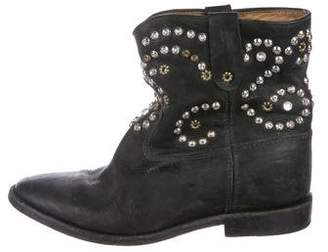 Isabel Marant Studded Wedge Booties