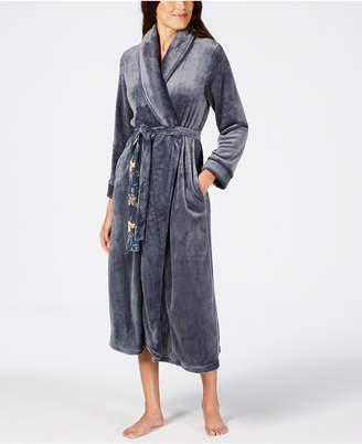 Sesoire Long Fleece Wrap Robe