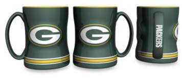 NFL Green Bay Packers Ceramic Sculpted Relief Mug