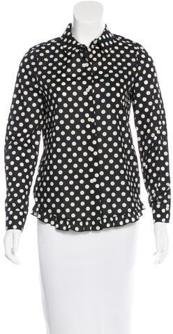 Kate SpadeKate Spade New York Polka Dot Button-Up Top w/ Tags