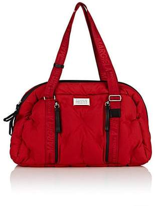 Maison Margiela Men's Grand Slam Padded Canvas Duffel - Red
