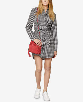 Sanctuary Tali Belted Cotton Shirtdress
