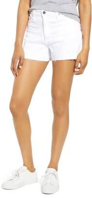 AG Jeans Mikkel High Waist Cutoff Denim Shorts