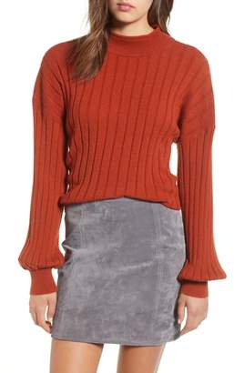 Leith Easy Rib Pullover Sweater