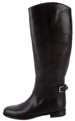 Ralph Lauren Leather Riding Boots Black Leather Riding Boots