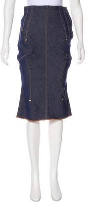 Undercover Denim Midi Skirt w/ Tags