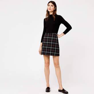 Warehouse Check Pelmet Skirt