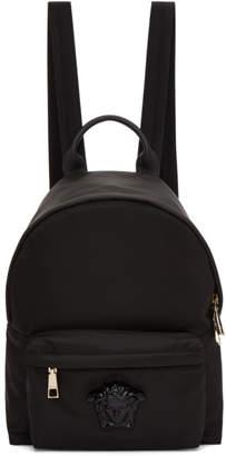 Versace Black Medium Palazzo Backpack